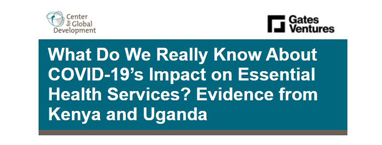 What Do We Really Know About COVID-19's Impact on Essential Health Services? Evidence from Kenya and Uganda